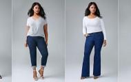 plus size women, corporate two-piece suits