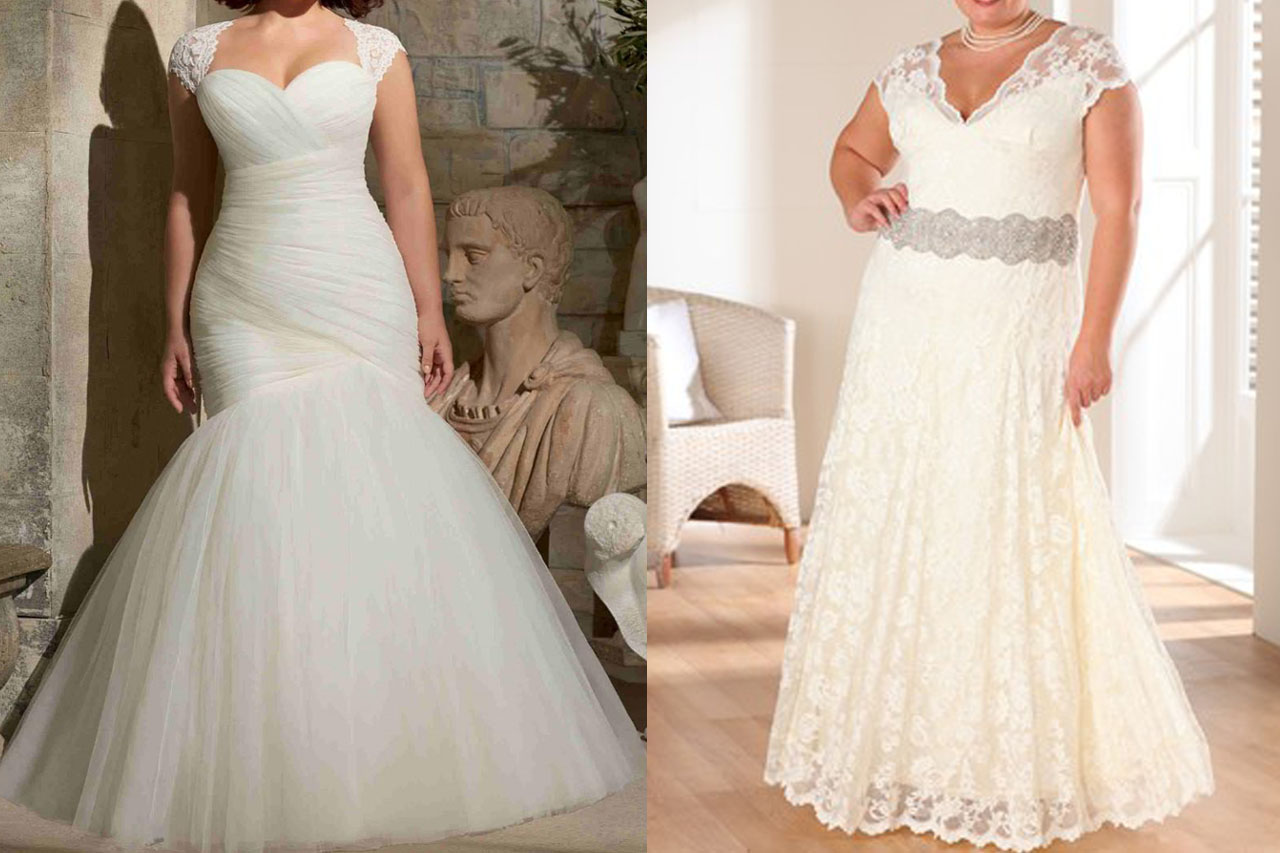 Different Wedding Dress Styles For Plus Sized Brides
