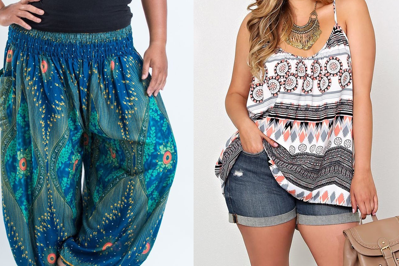 aa3b5e6906 Tips to Buy Plus Size Gypsy Style Clothing