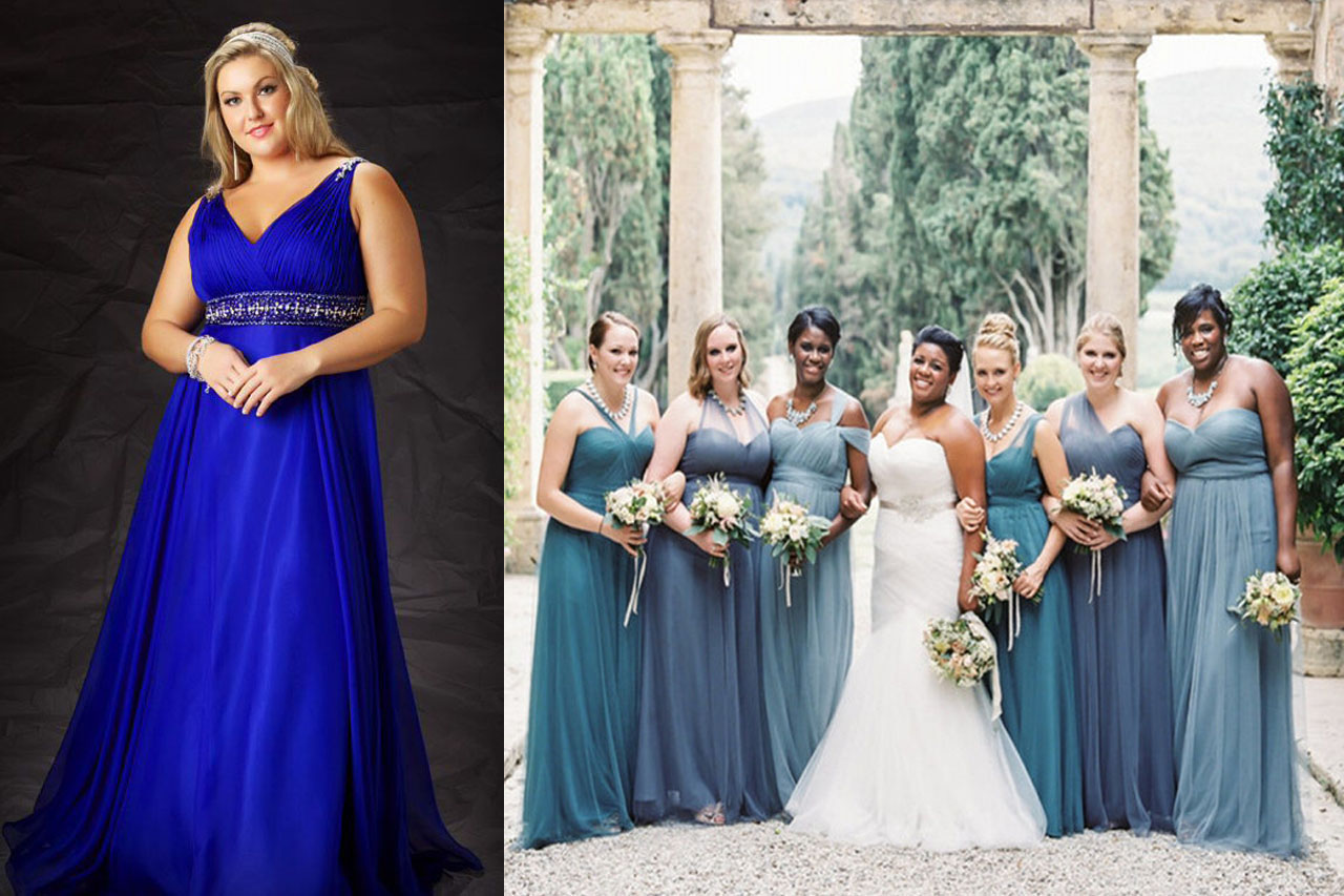 Tips to shop for plus size bridesmaid dresses