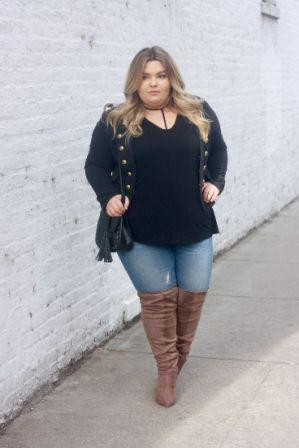 919dc4984ee Top Tips to Rock in Plus Size Knee High Boots!