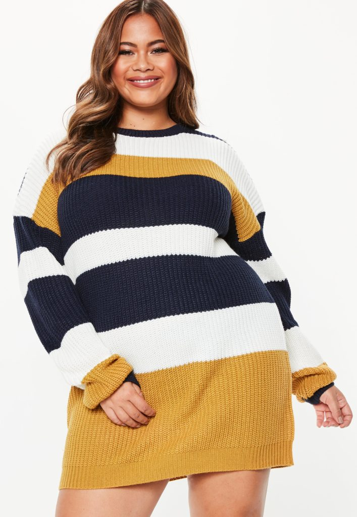 Flattering Ways to Style Plus Size Jumper Dresses