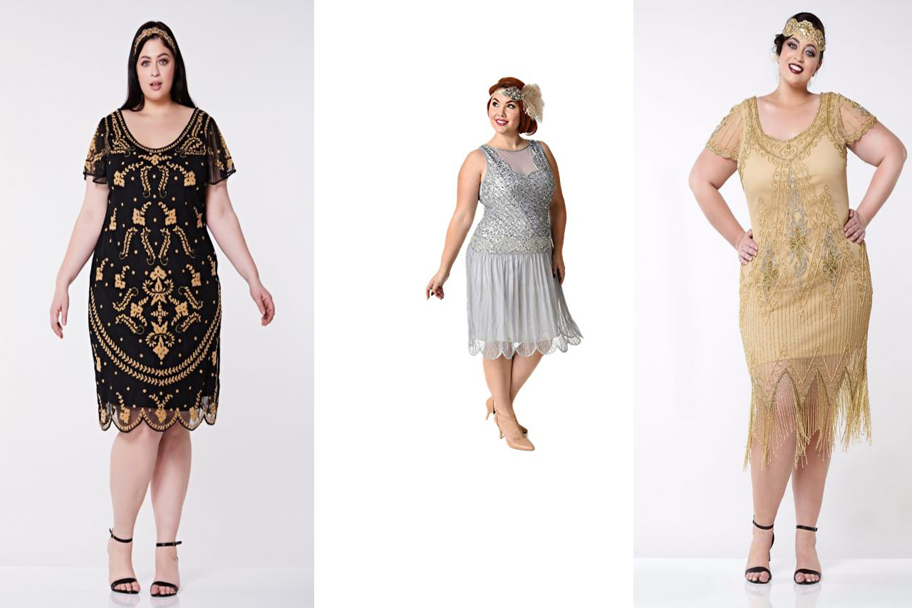 Tips on Revisiting the 1920s in a Plus Size Flapper Dress ...